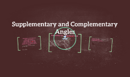 CCSS. Math. 7. G. B. 5. Use facts about supplementary, compl