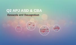Q1 APJ ASD & CBA