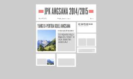 JPK ANGSANA 2014/2015