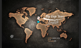 My Gap Year: