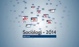 Sociologi - 2014