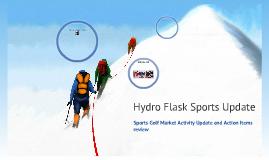 Hydro Flask Sports Update
