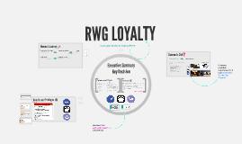 Training RWG LOYALTY 2016