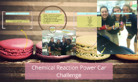 Chemical Reaction Power Car Challenge