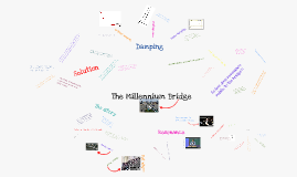 Millennium bridge resonance and damping project