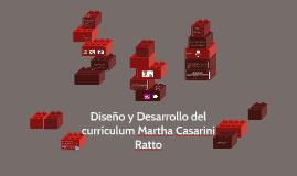 Copy of Copy of Diseño y Desarrollo del currículum Martha Casarini Ratto
