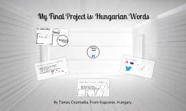 HunWords - a CS50x Final Project