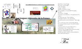 Les dialectes regionaux de la France