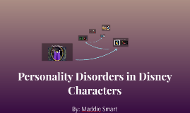Personality Disorders in Disney Characters