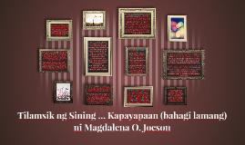 Pilipinas, mapalad ka sa muling pagsilang. Ang panahon ng ka