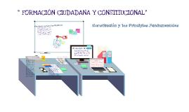 Formación ciudadana y constitucional