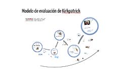 Modelo de Evaluación Kirkpatrick
