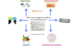 How can I support students as active learners?