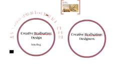 Creative Realisation : Design