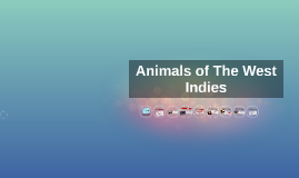 Animals of The West Indies