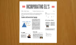 INCORPORATING ELL'S