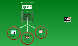 Green Party Election Advertisement