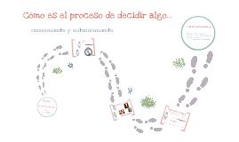 El proceso decisorio
