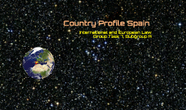 Country Profile Spain