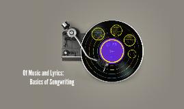 Of Music and Lyrics: