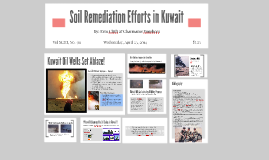 Copy of Soil Remediation Efforts in Kuwait