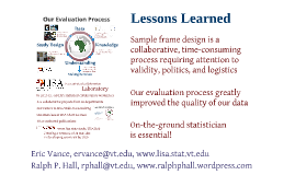 A Collaborative Process for High Quality Impact Evaluations in Developing Countries