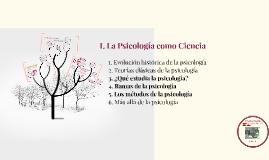 La Psicología como Ciencia II
