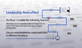 Copy of Leadership Reshuffled