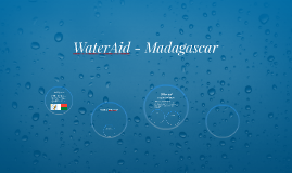 WaterAid - Madagascar