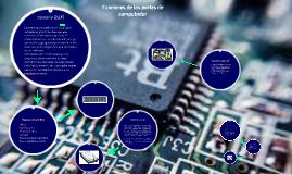 Copy of Funciones de las partes de computador
