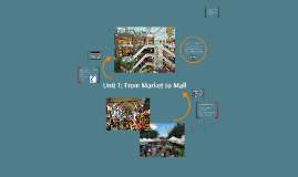 Unit 1: From Market to Mall