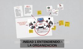 Copy of Copy of UNIDAD 1 ENTENDIENDO A LA ORGANIZACION
