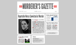 MURDERER'S GAZETTE