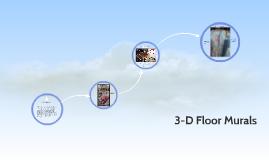 3-D Floor Murals