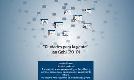 Ciudades para la Gente - Jan Gehl