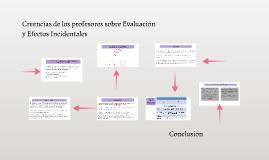 Copy of Creencias de los profesores sobre Evaluación