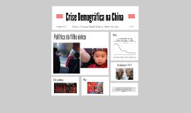 Crise Demográfica na China