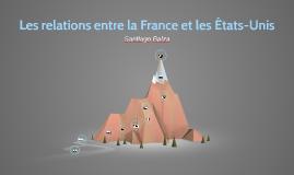 Les relations entre la France et les États-unis