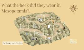 Where the heck is Mesopotamia?!