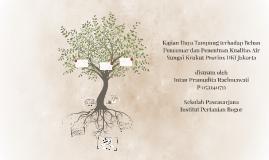 Kajian Daya Tampung terhadap Beban Pencemar dan Penentuan Ku