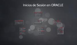 Inicios de Sesión en Oracle