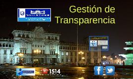 COPRET - Comisión Presidencial de Transparencia