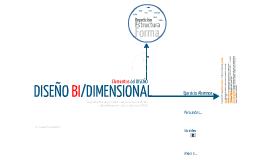 Diseño Bi Dimensional