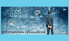 U.D. 8 Inversión y Financiación