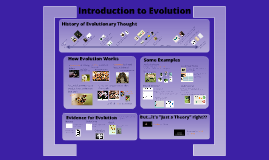 Copy of AP Bio: Evolution Introduction