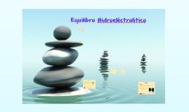 Equilibrio Hidroelectrolitico