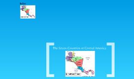 Seven Countries of Central America