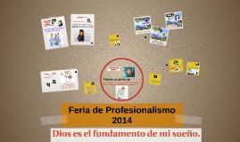 Feria de Profesionalismo