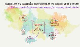 Caminhos de inserção profissional do assistente social: Apri