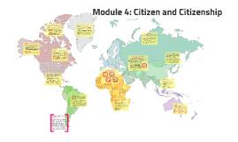 Module 4: Citizen and Citizenship